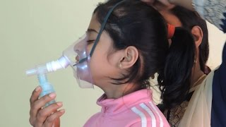 How to Nebulize - a baby, a child, a kid, a patient, Unbox, use nebulizer machine at home, do nebuli