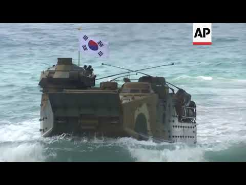 Thailand and US hold joint military drills