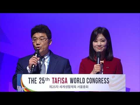 25th TAFISA World Congress Seoul, Korea. November 2017