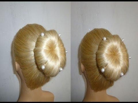 Festliche Frisuren Mit Duttkissen Haare Wachsen Schneller