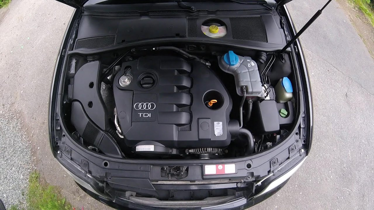 What\'s under the hood? Naming parts inside the engine bay, Audi A6 ...