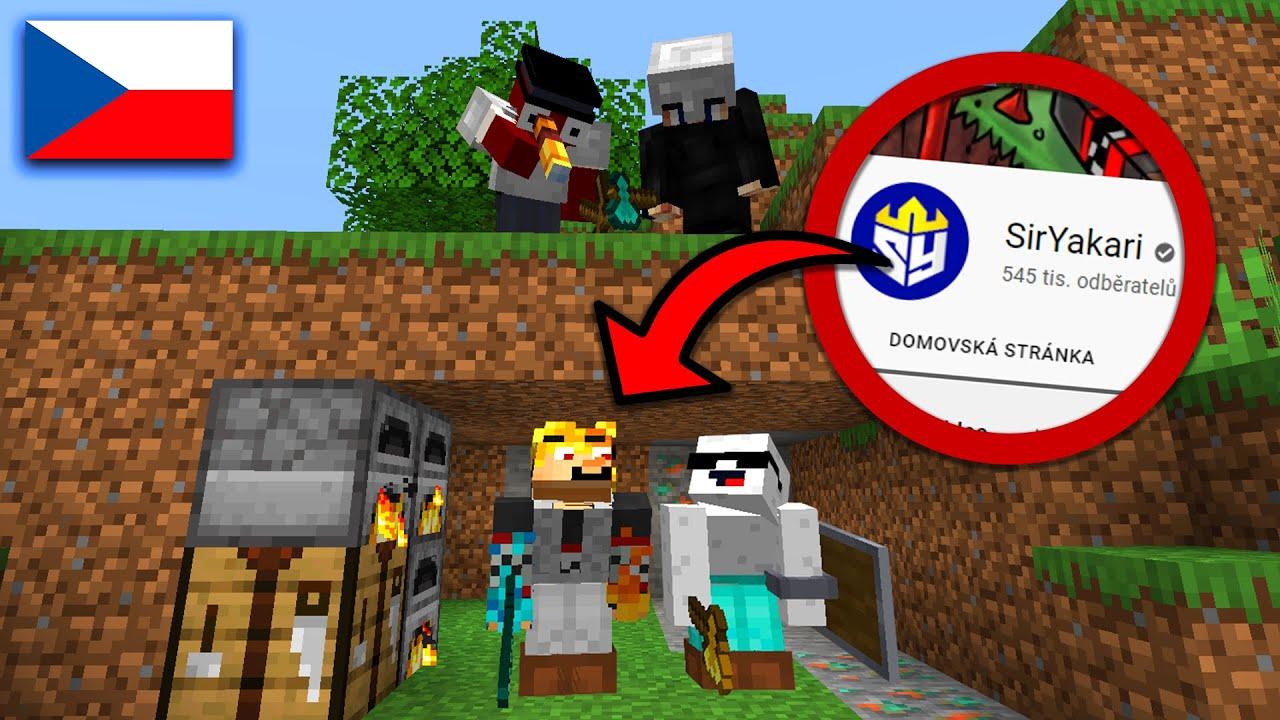 Český Minecraft ManHunt (2v2)