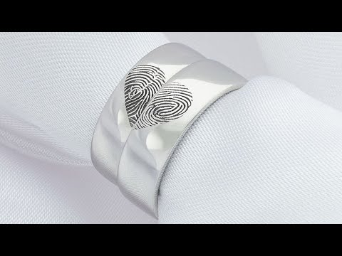Creating a Fingerprint Wedding Ring