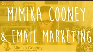 HOW Mad Mimi: Email Marketing with Mimika Cooney, Photographer & Mad Mimi Look-a-like