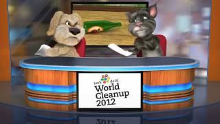 Talking Tom and Ben News World Cleanup 2012