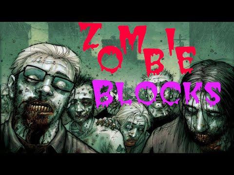 Игра Зомби Блоки играть онлайн