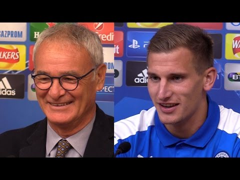 Claudio Ranieri & Marc Albrighton Full Pre-Match Press Conference - Leicester v Porto