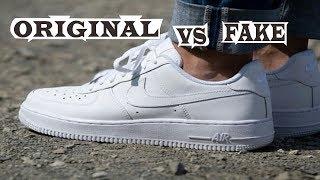 Nike Air Force 1 Original & Fake