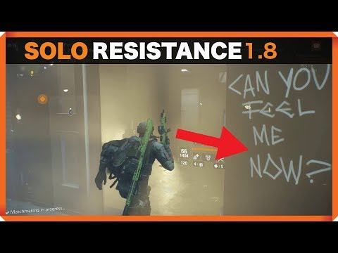 The Division | Pier 93 | SOLO | With Out Ambush | Resistance | Endless Difficulty 1. 8 Gameplay