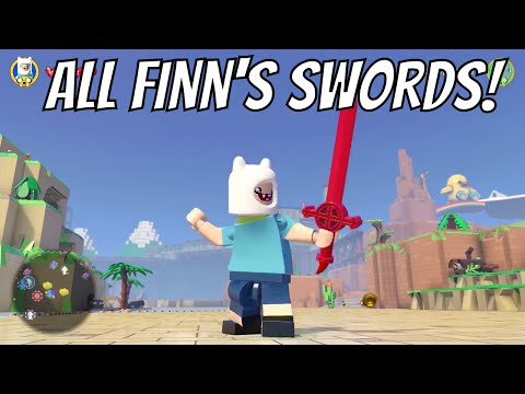 LEGO Dimensions - All Of Finn The Humans Swords (Adventure Time)