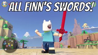 Baixar LEGO Dimensions - All Of Finn The Humans Swords (Adventure Time)