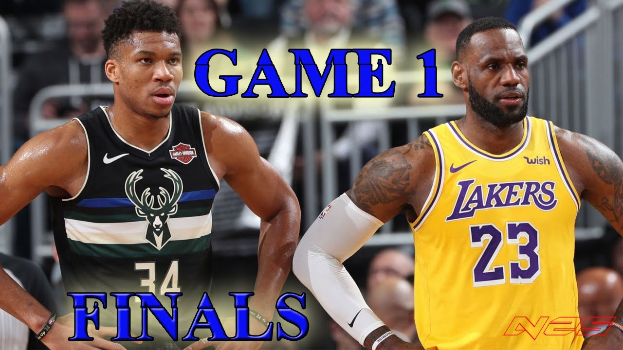 Los Angeles Lakers vs Milwaukee Bucks - Full Game! NBA ...