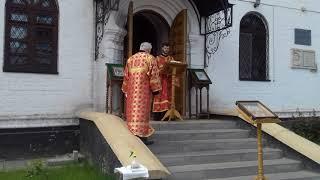 Евангелие. Поздняя воскресная Литургия. Марфо-Мариинский женский  монастырь