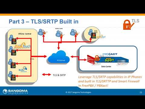 Using Built-in TLS/SRTP Capabilities