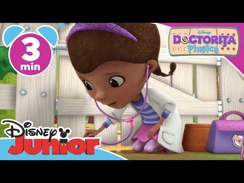 Doctorița Plușica – Crocodilul Gustav rămâne blocat. Doar la Disney Junior!