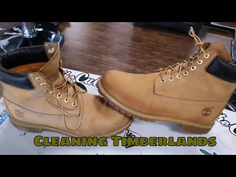 Cleaning Timberlands: Wheat Timberlands