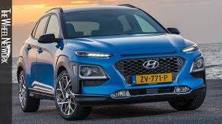 2020 Hyundai Kona Hybrid | Blue Lagoon | Exterior, Interior