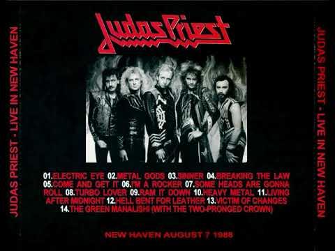 Judas Priest -  in New Haven 19880807