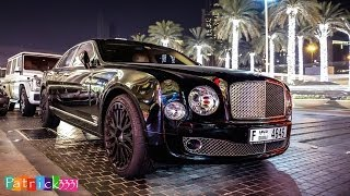 (nearly) murdered out Bentley Mulsanne with bad a$$ rims