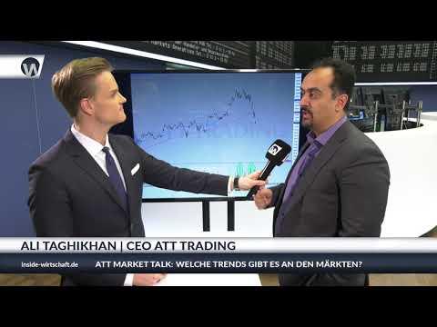 ATT an der Börse in Frankfurt - Ali Taghikhan im Jahresabschluss Interview mit Manuel Koch