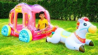Jason Play with Princess Toys