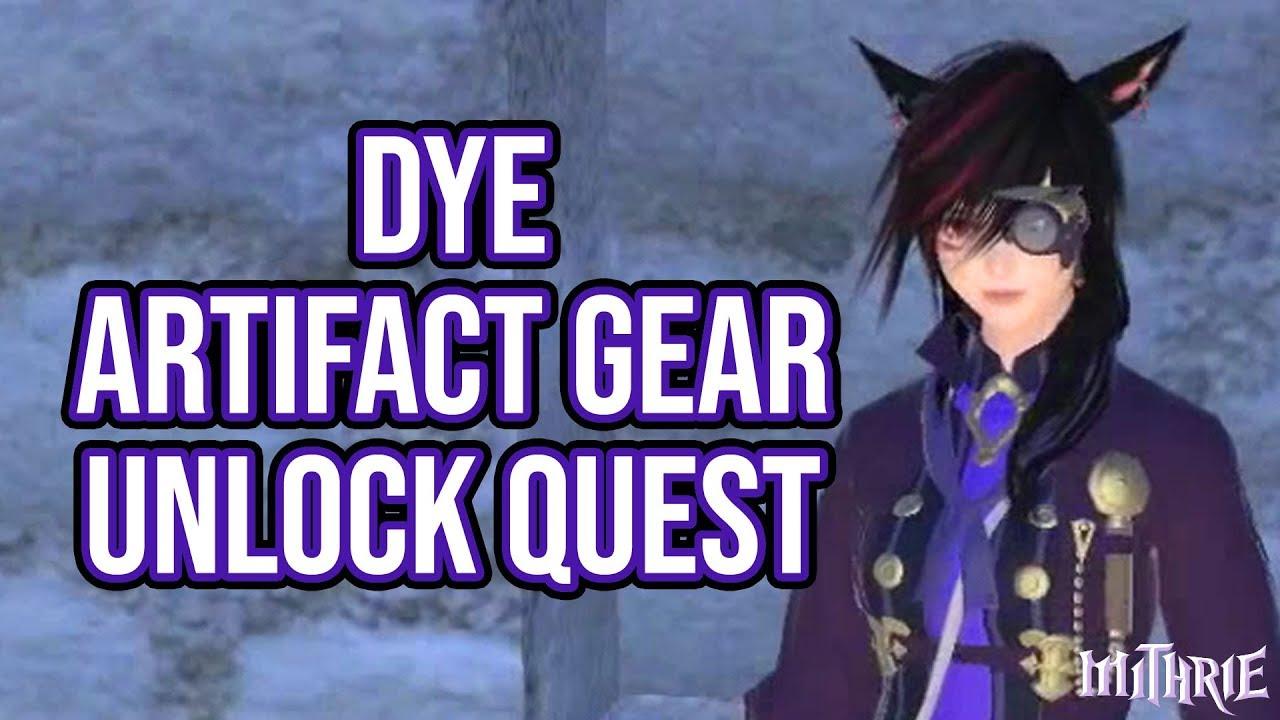FFXIV 2 3 0367 Dying Artifact Gear Unlock Quest