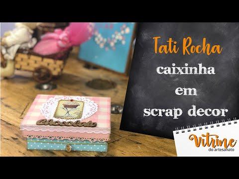 Caixa de páscoa em Scrap Decor - Tati Rocha thumbnail