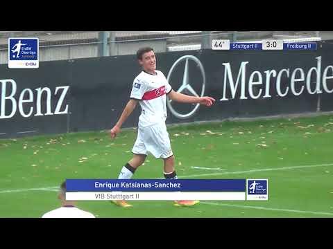 B-Junioren - 3:0 - Enrique Katsianas-Sanchez - VfB Stuttgart 2 gegen SC Freiburg 2