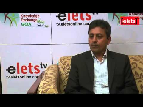 elets KE Goa 15 ' Interview -Dr.Omkar Rai, Director General, STPI