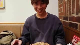 [すき家]タロウ、キング牛丼を食らおうとするが食われる。 thumbnail