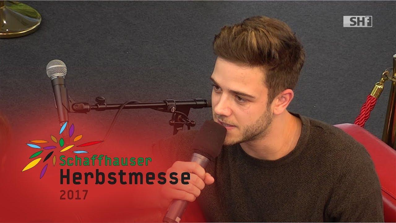 Herbstmesse 17 Luca Hänni Zu Gast Auf Dem Roten Sofa Youtube