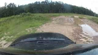 gopro hero 2   trail riding and mudding in a jeep wj