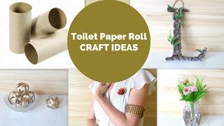 Best out of Waste Easy Toilet Paper Roll Crafts | DIY Tube Craft Ideas and Hacks by Fluffy Hedgehog