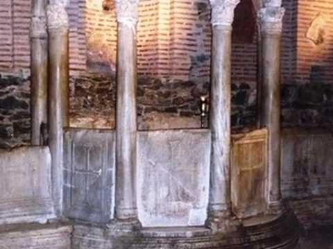 Krypta der Kirche Agios Dimitrios Thessaloniki