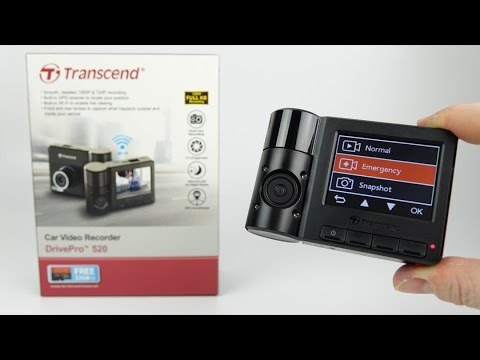 Transcend DrivePro 520 Dual Lens in & out TAXI Dashcam Review