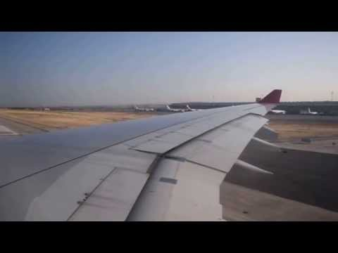Avianca AV27 Take-Off Madrid heading to Bogotá HD 1080p