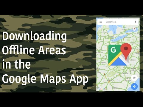 Technology Tip of the Week -  Downloading Offline Areas in the Google Maps App
