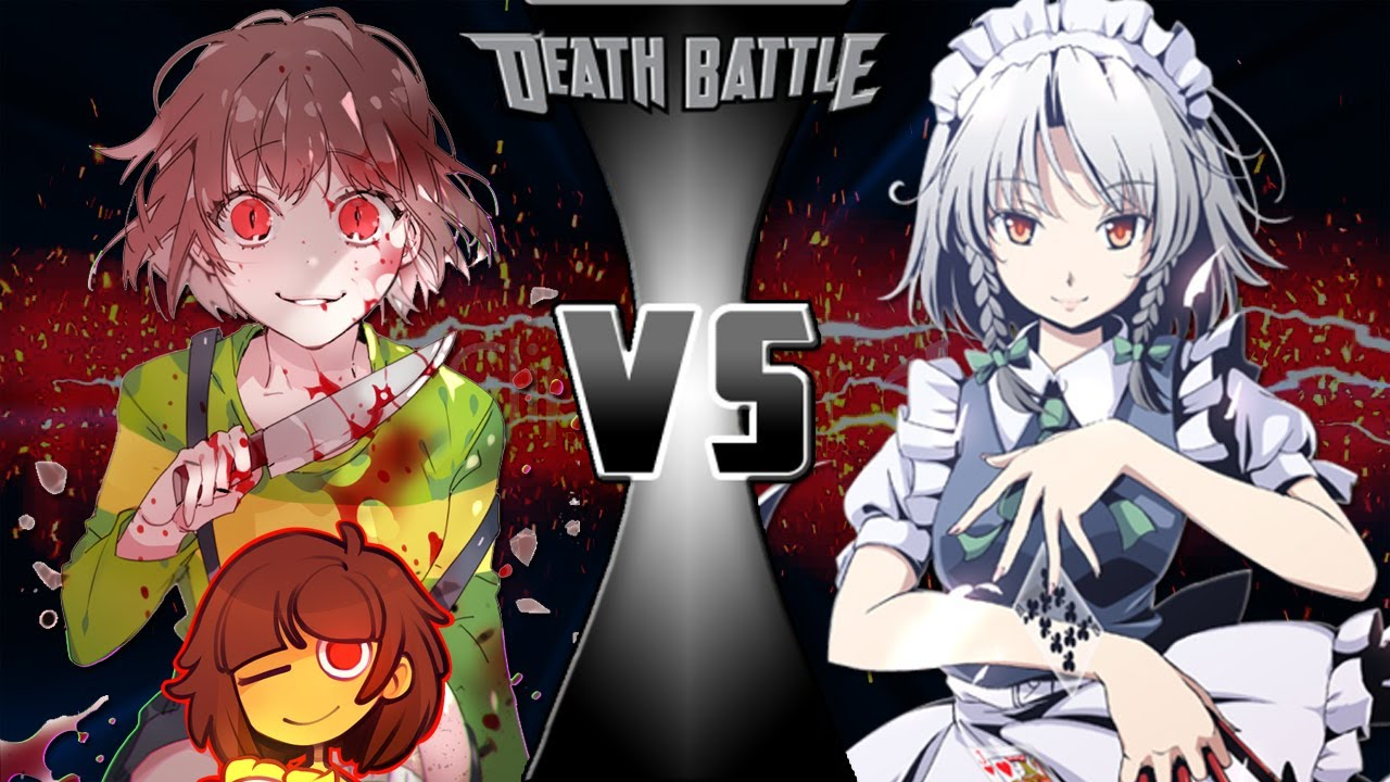 Chara vs Sakuya Power Levels (キャラVSサクヤ・イザヨイ)