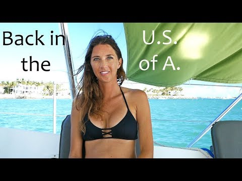 Back in the U.S. of A.  (MJ Sailing - EP 52)