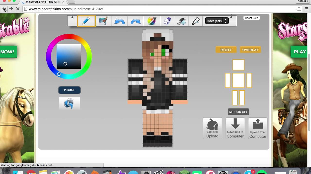 How To Download Minecraft Skins MAC YouTube - Baixar skins para minecraft de pc