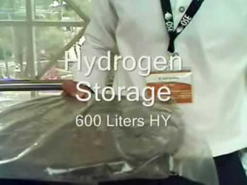 Store 600 Liters Hydrogen Safe In Your Hand