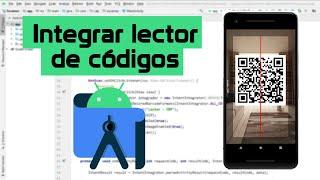 Lector de códigos de barras y QR  - Android Studio screenshot 1