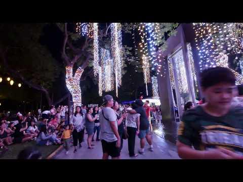 【4K】Ayala Triangle Gardens, Makati, Philippines Part 1