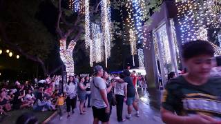 【4K】Ayala Triangle Gardens, Makati, Philippines Part 1