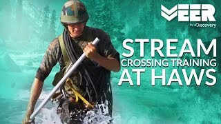 Stream Crossing Training at High Altitude Warfare School   HAWS E1P3   Veer by Discovery