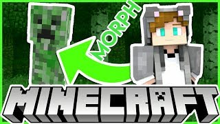 How to morph into Mobs in Minecraft MCPE & BEDROCK !!! ( TRICK )