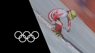 Amazing Skiing Moments | Olympic Records