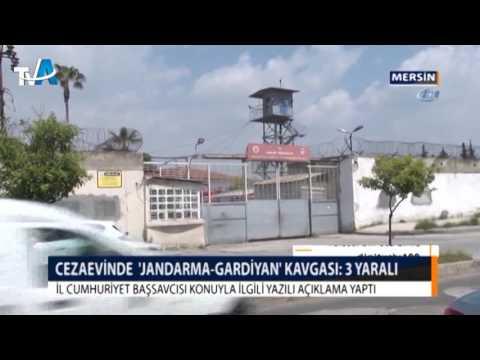 CEZAEVİNDE  'JANDARMA-GARDİYAN' KAVGASI