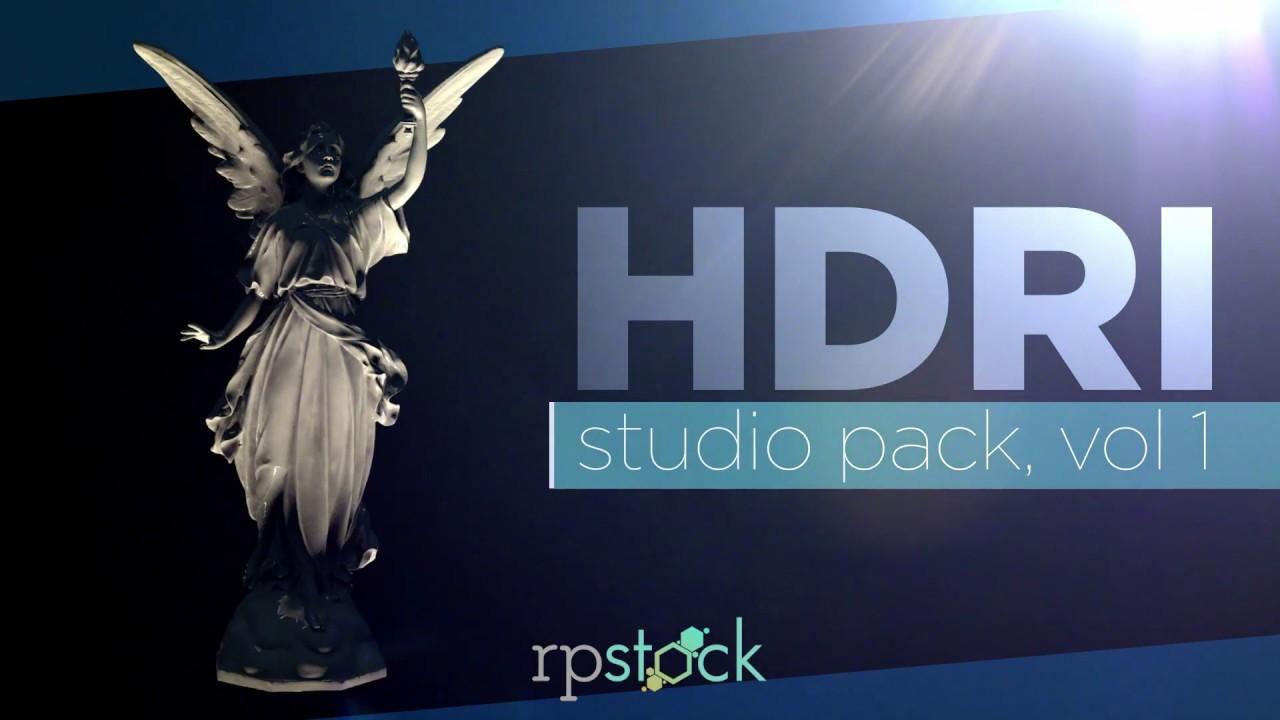 HDRI Studio Pack Vol 01 | RP Stock