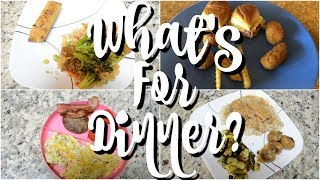 WHAT'S FOR DINNER | EASY DINNER RECIPES | WORKING MOM WHAT'S FOR DINNER | AFFORDABLE DINNER RECIPES